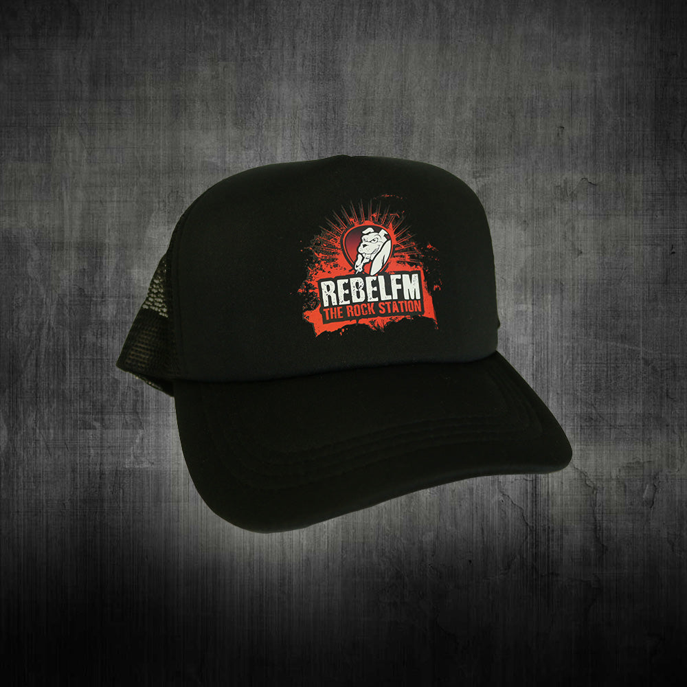 Rebel FM Trucker Cap