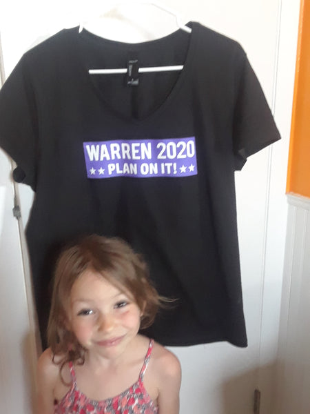 Warren 2020 PLAN ON IT T-shirt!