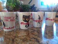 DRINK! Wonkette SHOT GLASS SINGLES!