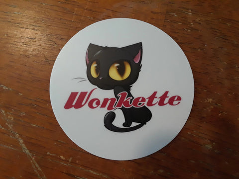 Wonkette Baby Kitten Sticker!