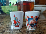 Joe Biden / Kamala Harris Shot Glass Double Set!