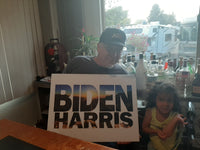Biden Harris New Dawn bumper sticker (yard signs sold separately!)