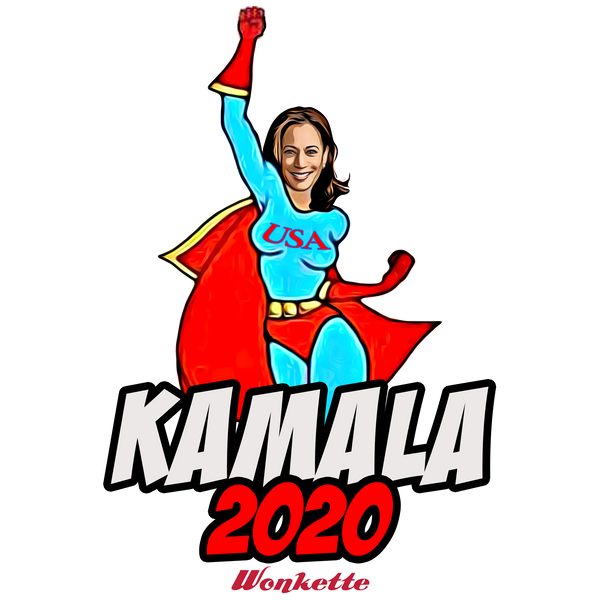 Kamala superhero stickers and magnets!