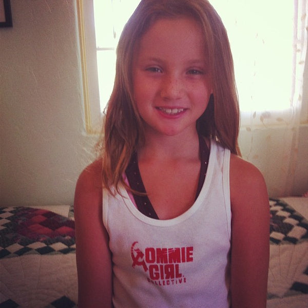 Girls' and Women's Commie Girl Collective Tanks and Tees
