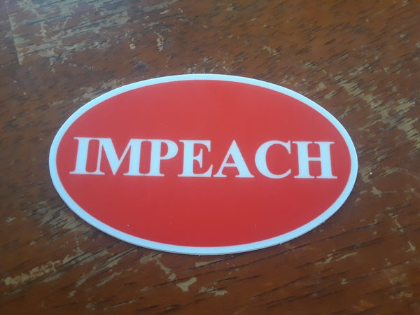 IMPEACH sticker!