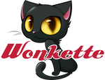 Wonkette Baby Kitten (NOT with a whip!) tees and tanks!