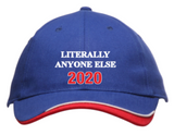 LITERALLY ANYONE ELSE 2020! The Only Ballcap You Need