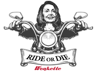 Nancy Pelosi Ride or Die STICKERS!