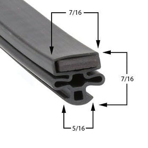 Howard-McCray Cooler Door Gaskets