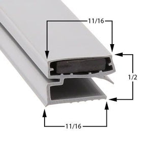 La Rosa Cooler Door Gaskets