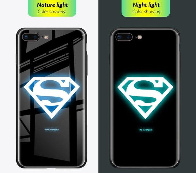 Luminous Tempered Glass Case - Super