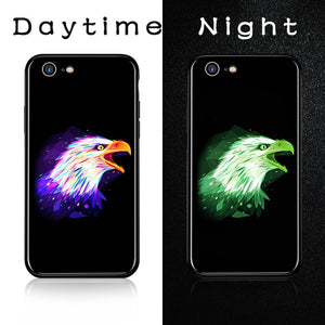 Luminous Tempered Glass Case - Eagle