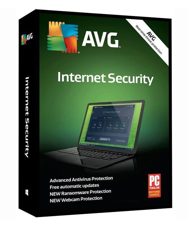 AVG Internet Security 5 Devices 2 years - Digital Software Download - Calutek Online