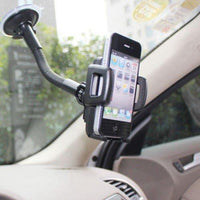 Car Swivel Air Mount Frame Vent Holder + Phone In Car Windscreen Suction Mount Holder Cradle Stand - Calutek Online