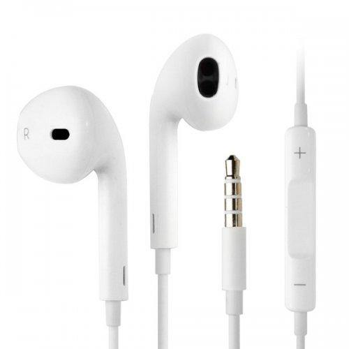 Earphone Headset earbuds with Remote & Mic for iPhone, Android, etc - Calutek Online