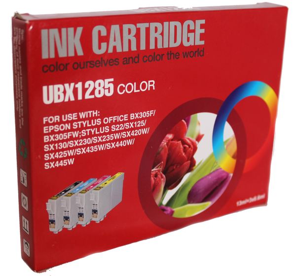 Inkrite Compatible Epson T1285 Ink Cartridge Full - Set 4 Pack C,Y,M,BK Non OEM - Calutek Online