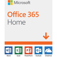 Microsoft Office 365 Home English 1 Year 6 Users - Digital Download Software - Calutek Online