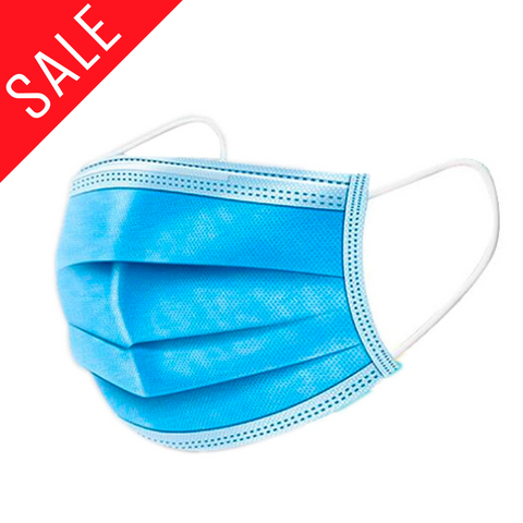 Blue 3 Ply Face Mask