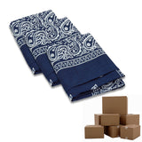 Case of Wholesale Paisley Bandana - 600 Piece