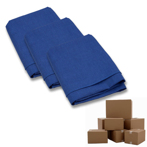 Case of Wholesale Solid Color Bandana - 600 Piece