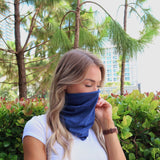 Solid Face Shield Neck Gaiter Baclaclava