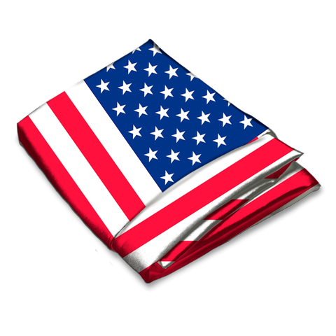 American Flag Wholesale Bandana - 12pcs