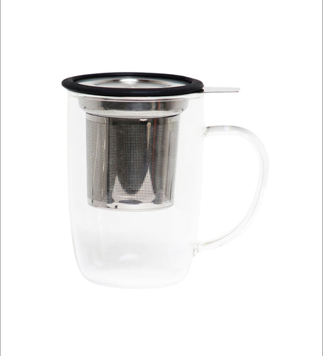 Large Glass Tea Cup Infuser