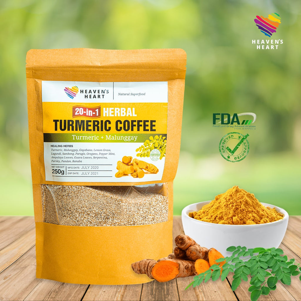 20-in-1 Herbal Turmeric Malunggay Coffee 250g