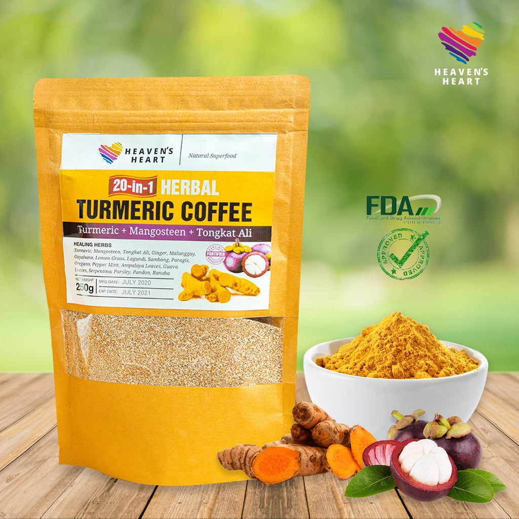 20-in-1 Herbal Turmeric Mangosteen Tongkat Ali Coffee
