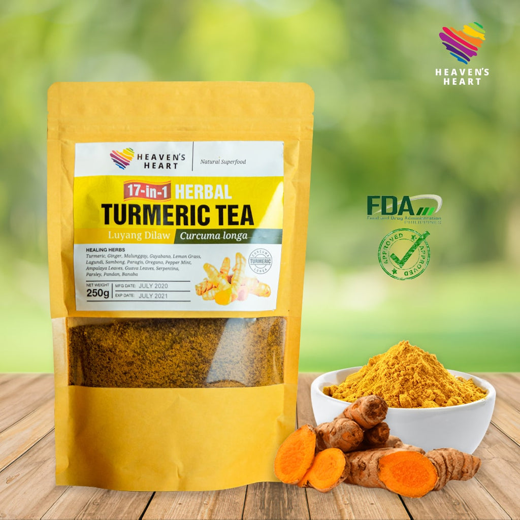 17-in-1 Herbal Turmeric Tea 250g