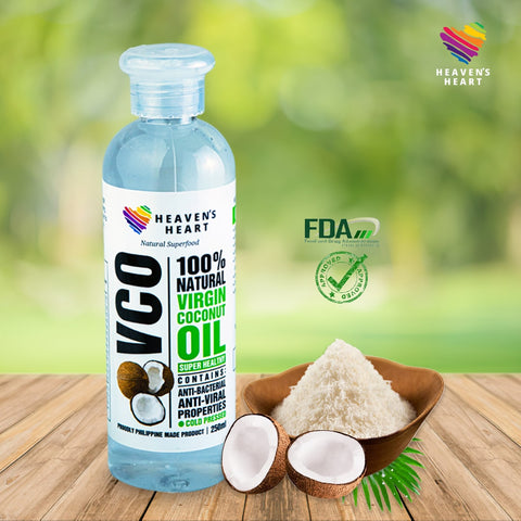 100% Pure Virgin Coconut Oil (Cold Pressed) 250ml