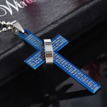 Load image into Gallery viewer, Limited Edition Jesus Faith Bible Verse Necklace