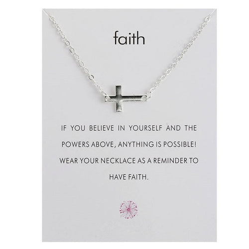 Limited Edition Cross Faith Necklace