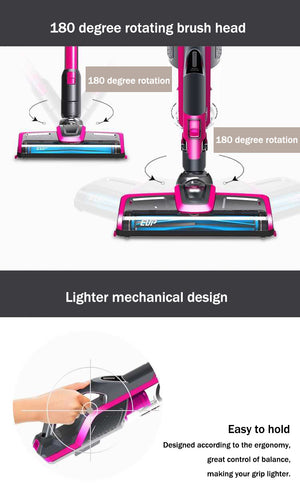 DMG SHOP - 2 Gear Detachable vaccum cleaner