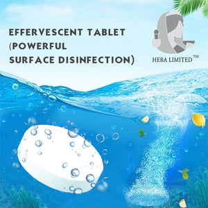 DMG SHOP - Effervescent tablet (Powerful surface disinfection)