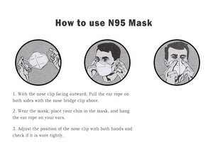 N95 Respirator Mask 1 pieces
