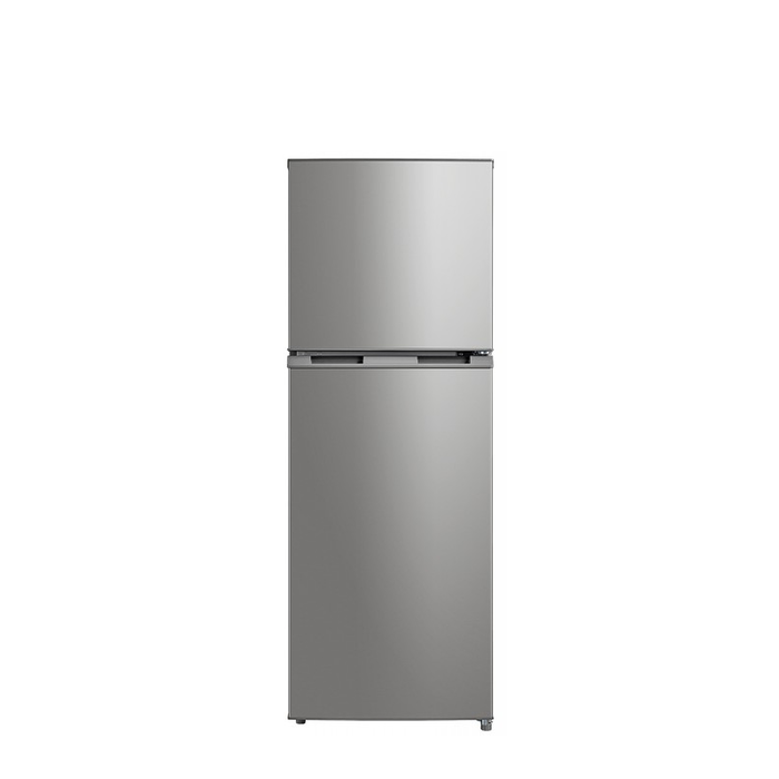 Midea Top Mount Fridge Freezer 239L Stainless Steel