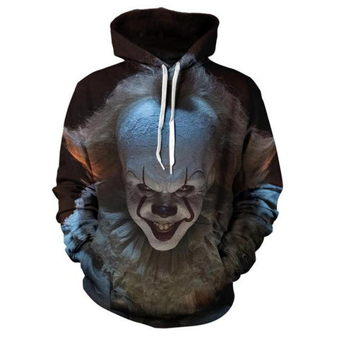 Joker 3D Printed Hooded Pullover - Suicide Squad Sweatshirt Hoodies