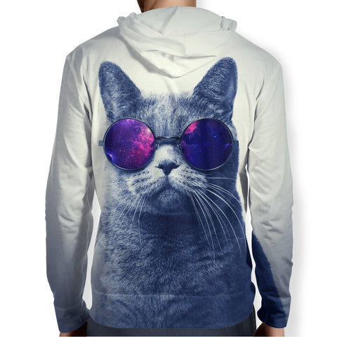Image of Cool Cat Galaxy Hoodie