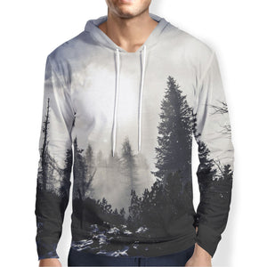 Trees in the Fog Hoodie