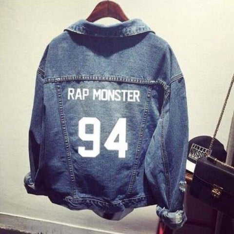 BTS Coat- Denim Jacket