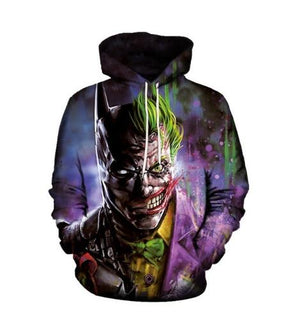 3d Printed Batman Hooded Hoodies