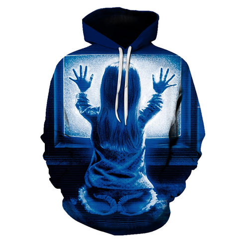 Image of Halloween Devil The Child Back 3D Printed Hoodie