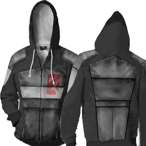 Borderlands Hoodies - Borderlands Zero Zip Up Hoodie Jacket