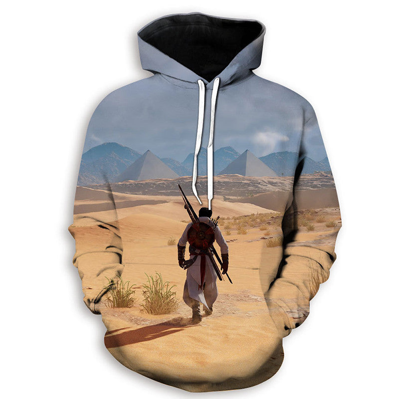 3D Print Game Assassin's Creed Hoodies