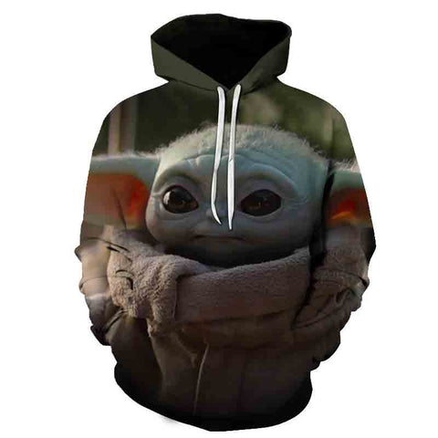 Image of Fashion Anime Stars Wars Hoodie Sweatshirts