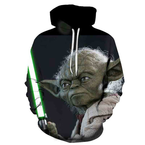 Image of Fashion Anime Star Wars Hoodie Sweatshirts