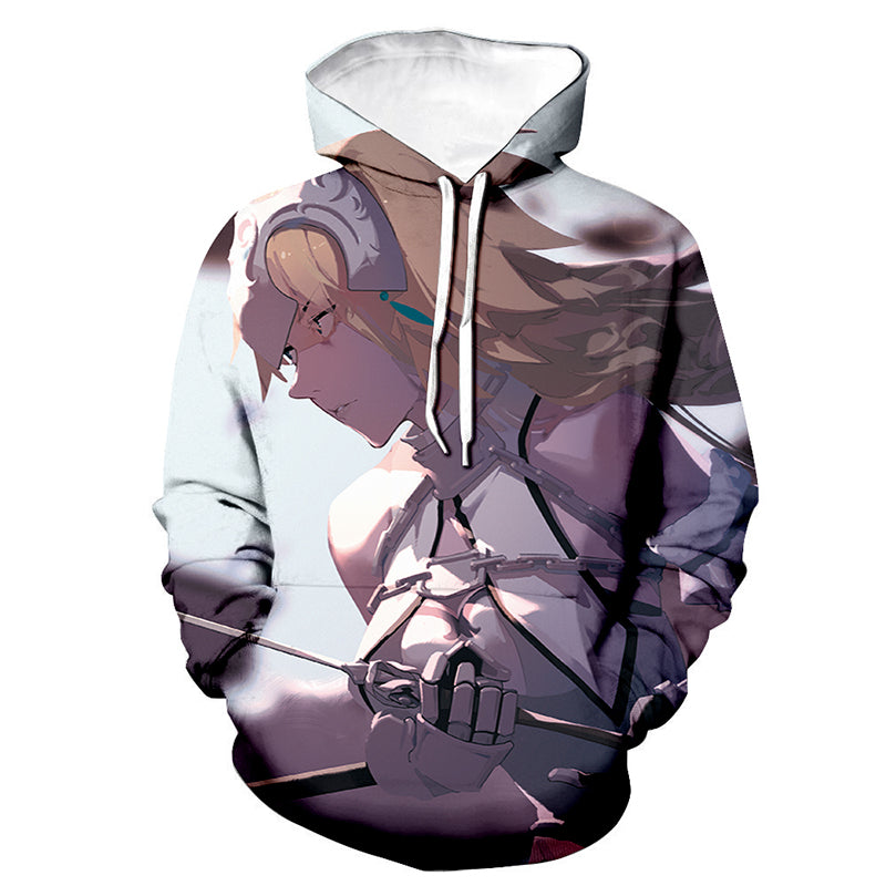 Fate Stay Night 3D Printed Hoodies - Anime Hooded Sweatshirt