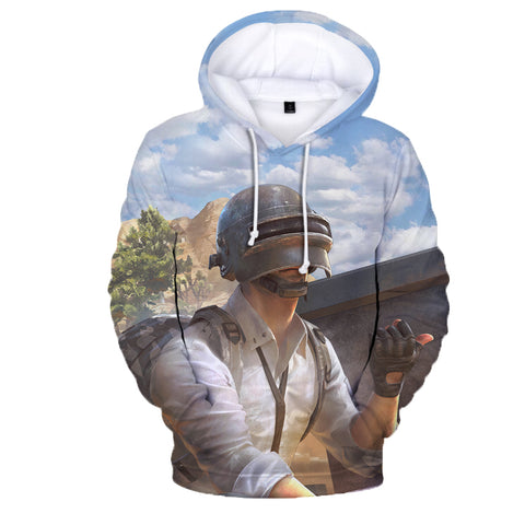 Image of Game PUBG Playerunknown's Battlegrounds 3D Print Hoodies