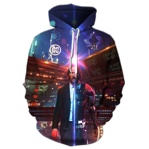 Image of Game Cyberpunks 2077 Hoodies Pullovers